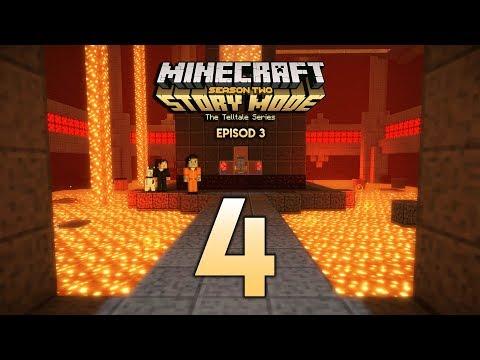 Nak Kemana PULAK Ni? (Minecraft Malaysia) - Minecraft Story Mode Season 2 | Episode 3 | Part 4
