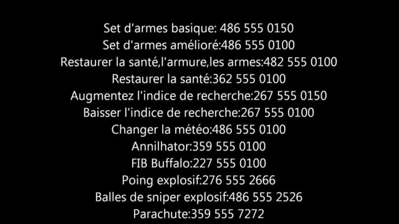 Tous les codes inédits de Gta episode from liberty city ...