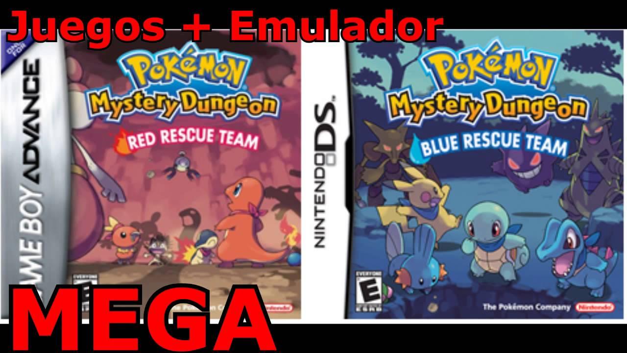 pokemon mundo misterioso equipo de rescate rojo gba zip