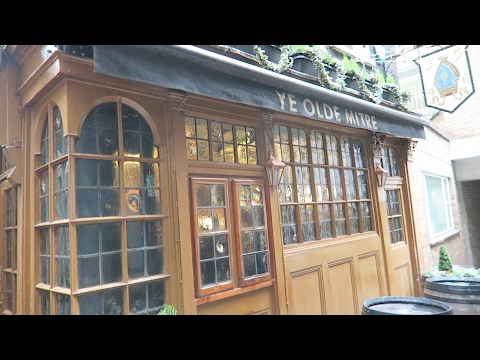 Ye Olde Mitre Tavern Hatton Garden London's Oldest Pubs