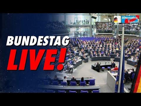 BUNDESTAG LIVE - 191. Sitzung - AfD-Fraktion