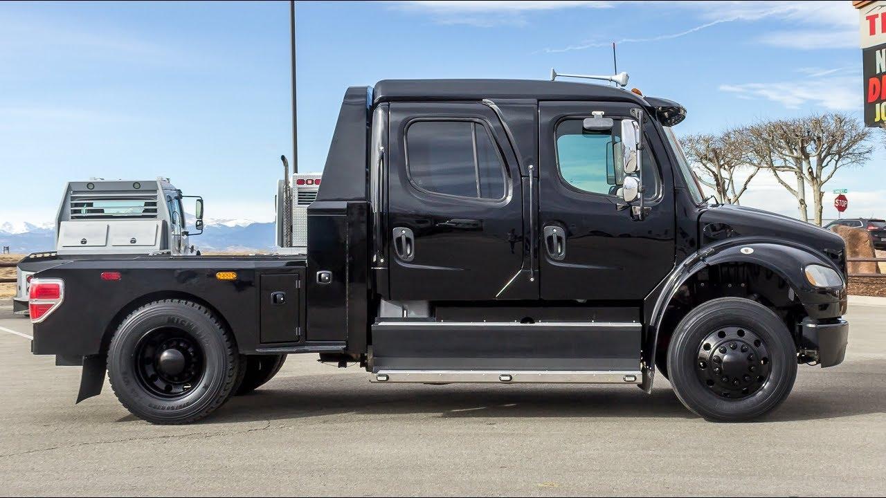 medium resolution of 2008 freightliner m2 106 sport truck hauler transwest truck trailer rv stock 5u171325