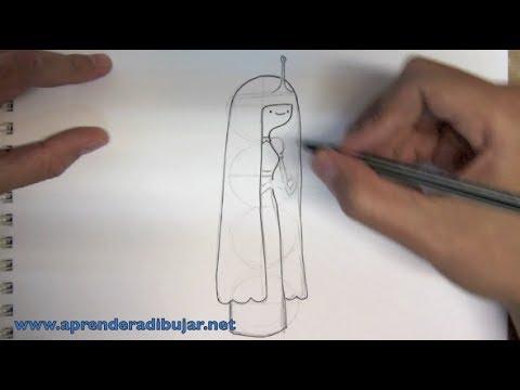 Cómo dibujar a la Dulce Princesa o Princesa Chicle de Hora de ...