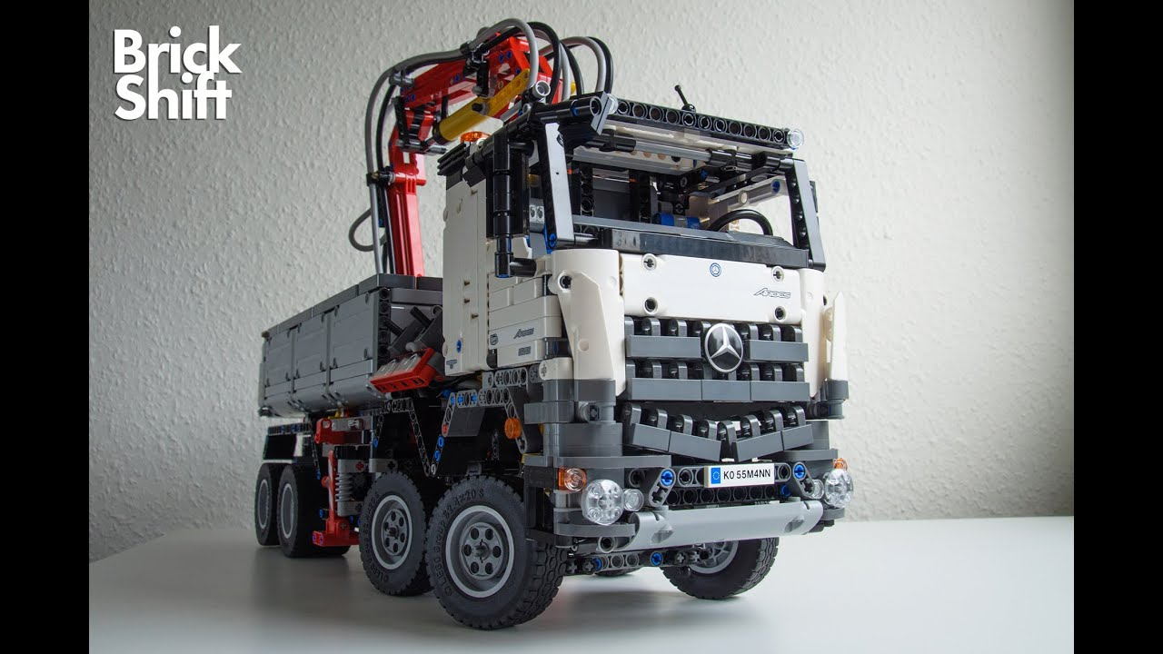 lego technic 42043 stop motion build youtube. Black Bedroom Furniture Sets. Home Design Ideas