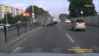 Авария на Металлургов в Екатеринбурге (август 2014)