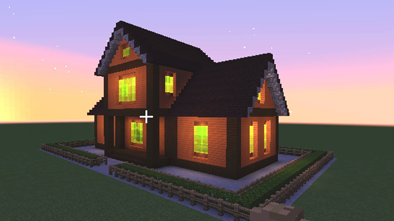 minecraft how to build a cool house quot simple wooden house