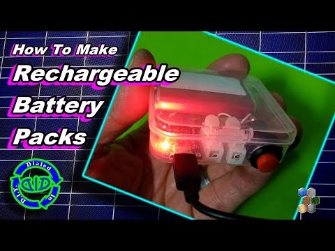 make-rechargeable-battery-packs---low-cost-&-easy
