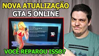 O INCRÍVEL ACONTECEU: NOVA ATUALIZAÇÃO PARA O GTA 5 ONLINE DO XBOX 360, ROCKSTAR CONFIRMOU O FIM 😭😭