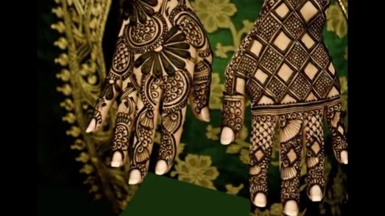 Best Arabic Mehndi Designs For Hands 2016 Collection Youtube