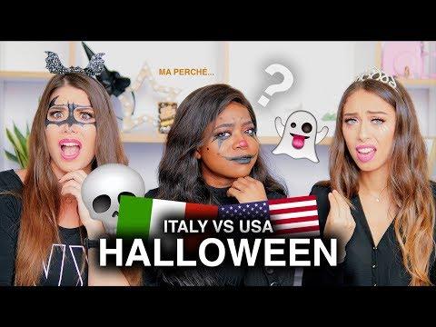 ITALY VS USA HALLOWEEN CON ADRIANA SPINK E GAIA VISCO GILARDI
