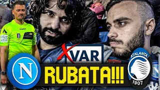 😡RUBATA!!! NAPOLI 2-2 ATALANTA | LIVE REACTION SAN PAOLO HD