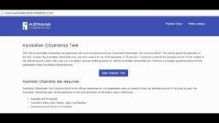 Australian citizenship test | australiancitizenshiptests.com