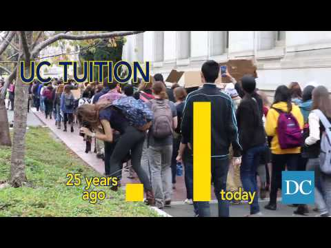 Students protest against Regents' plan to increase tuition
