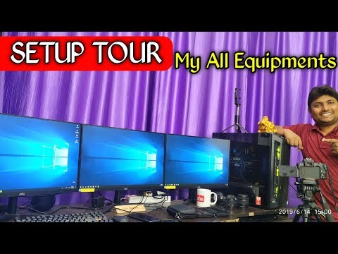 How I Shoot Youtube Videos | My Youtube Setup Tour | All My Youtube Equipment