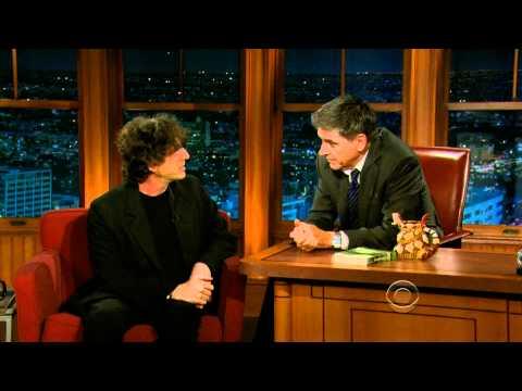 Neil Gaiman on Craig Ferguson's Late Late  June 28, 2011