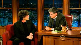 Repeat youtube video Neil Gaiman on Craig Ferguson's Late Late Show June 28, 2011