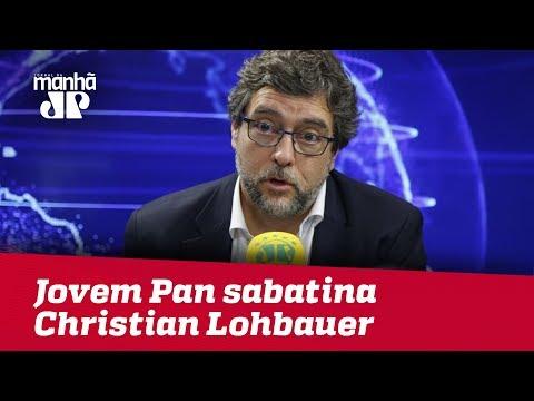 Eleições 2018 - Jovem Pan sabatina...