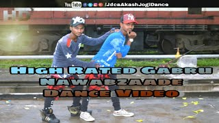 Nawabzaade ÷ High Rated Gabru || Jdca Akash Jogi Dance Choreography || Mavli , Udaipur , Rajasthan |