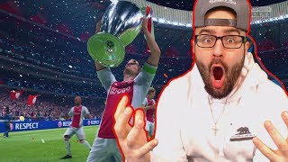 OMG THE MOST INSANE CAREER MODE TEAM EVER!! FIFA 19 Career Mode Ajax thumbnail