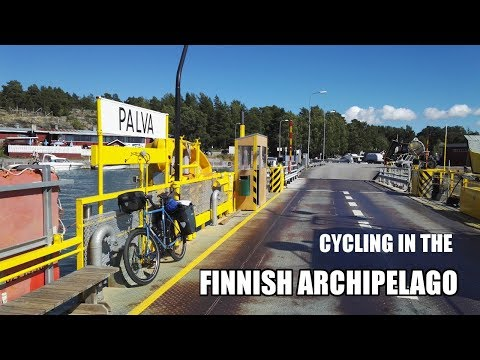 Cycling In The Finnish Archipelago Part 2