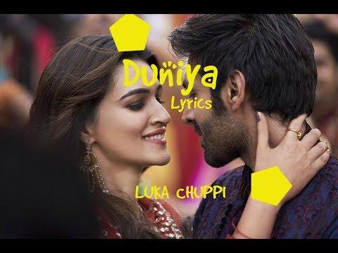 Duniya Song | Luka Chuppi | Duniya Lyrics | AKHIL | DHVANI BHANUSALI