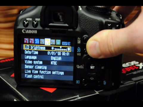 getitdigital hands on video open and look review of the Canon EOS Rebel XSi  (450D)