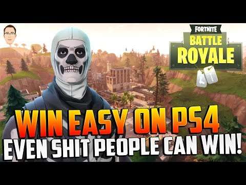 WIN EASY ON PS4 - Fortnite How to WIN SOLO Games! (Fortnite Tips & Tricks)
