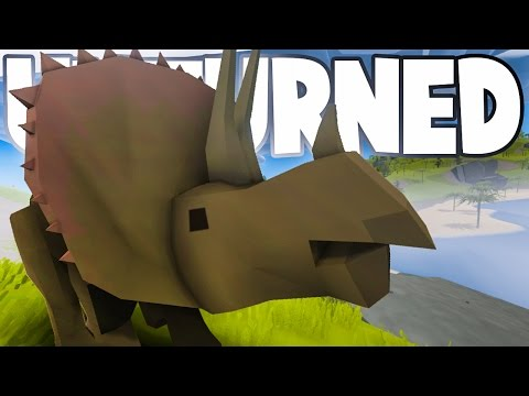 PREHISTORIC DINOSAURS! Unturned Dinosaur Modpack Gameplay (Custom Animals & Map)