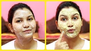 How to Get healthy glowing skin (winter special) /face pack for dry dull skin