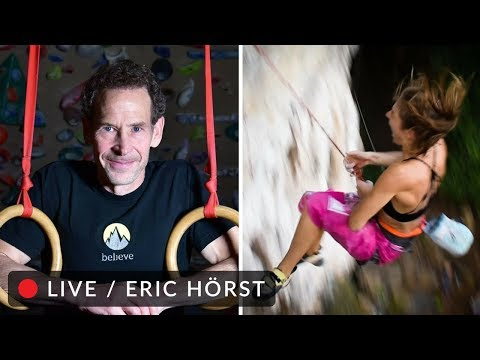 "🔴 Overcoming the Fear of Falling: Eric Hörst ""Training for Climbing"""