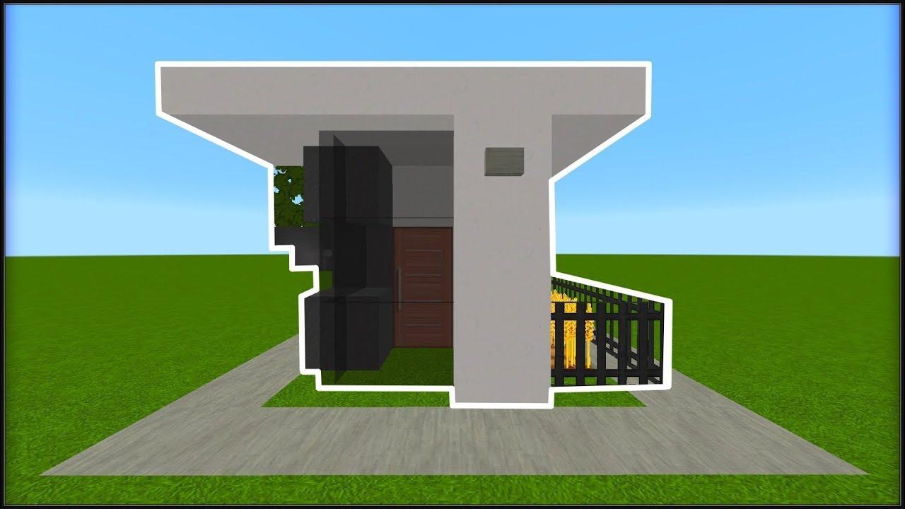 tuto comment construire une petite maison moderne dans minecraft youtube