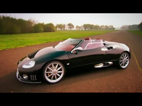 Spyker Car Review Top Gear BBC