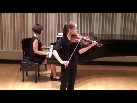 Geneva Lewis - Introduction and Rondo Capriccioso (Camille Saint-Saëns)