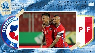 Chile 2 - 0 Perú - HIGHLIGHTS & GOALS - (11/13/2020)