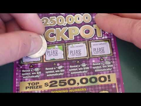 BIG WIN OUTTA MARYLAND! | 250K JACKPOT MD. SCRATCH-OFF!