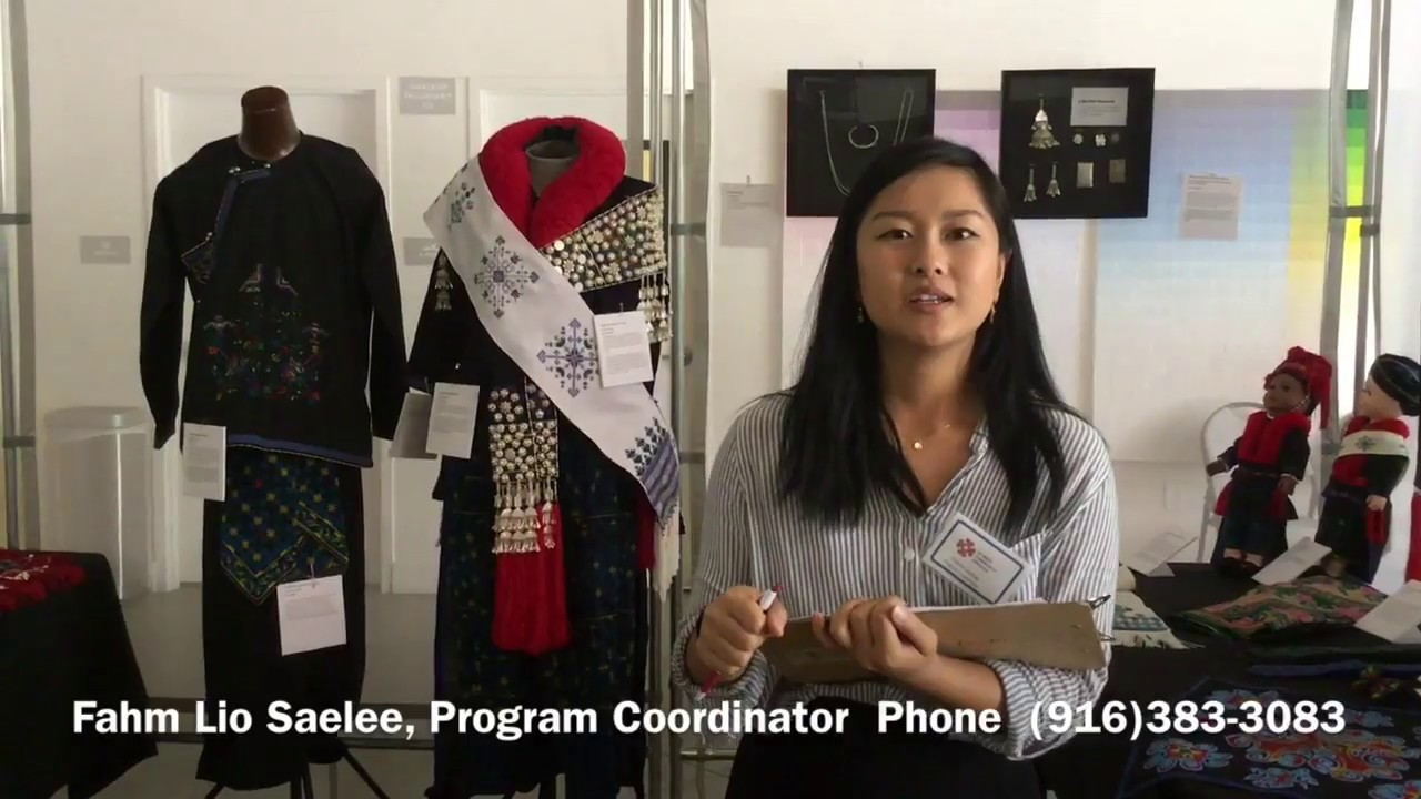 Iu Mien Cultural Clothing Exhibit Youtube