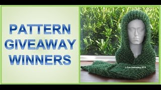 Pattern Giveaway Winners