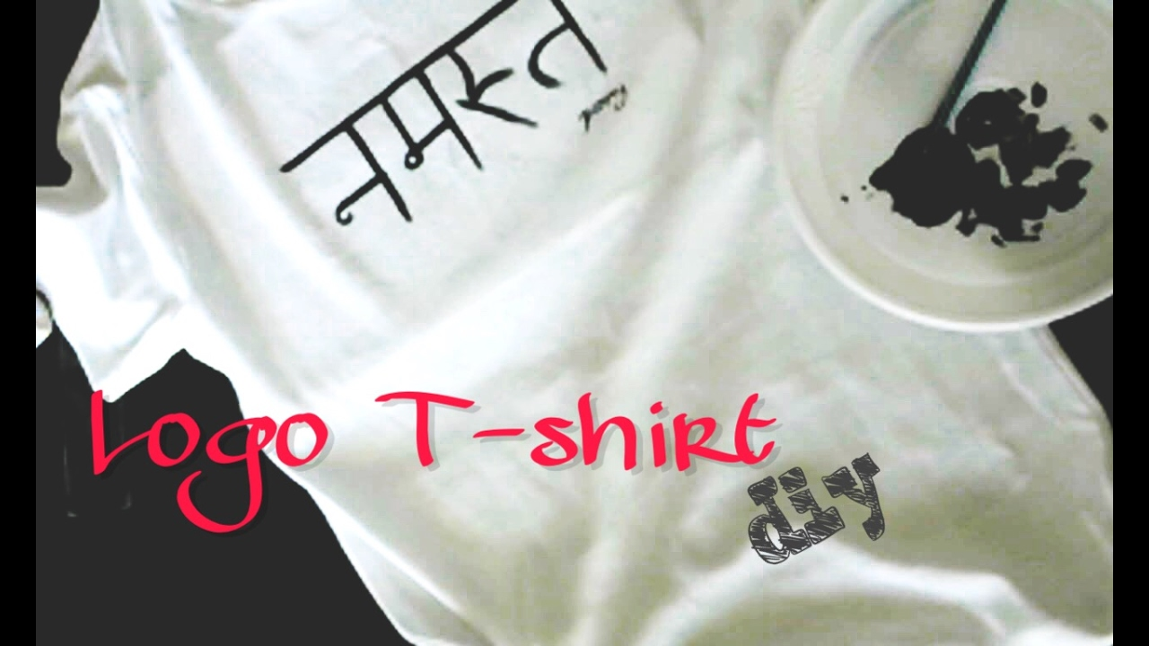 14105e5d3dd7 Καν το μόνος σου   T-shirt με λογότυπο !!! - YouTube