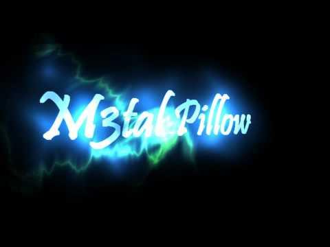 M3tal pillow text effect design