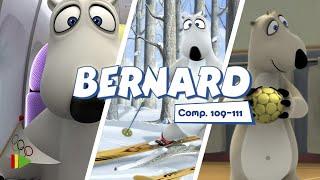 Бернард - 109-111 | Compilation  | Мультфильмы |