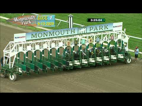 video thumbnail for MONMOUTH PARK 09-13-20 RACE 7