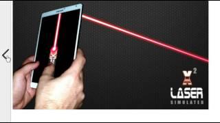 Мобильное приложение   виртуальный лазер на Вашем планшете или телефоне