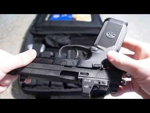 FNX-45 tactical review and shooting with RMR