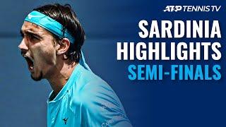 Sonego vs Fritz; Djere vs Basilashvili | Sardinia 2021 Semi-Final Highlights