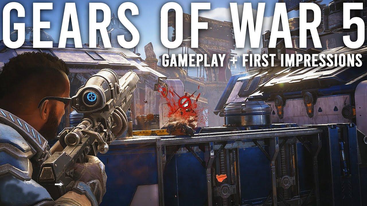 Gears 5 Gameplay Erste Eindrücke + video