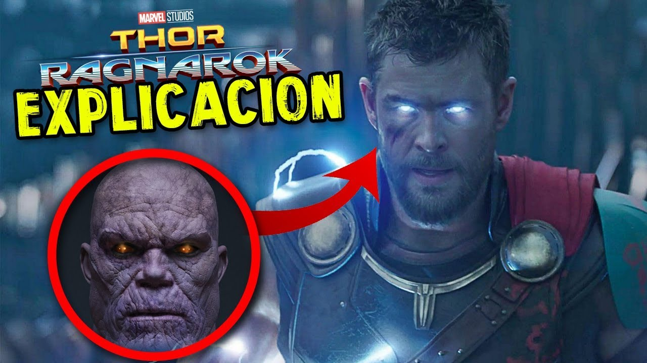 explicaci n escena post creditos thor ragnarok youtube. Black Bedroom Furniture Sets. Home Design Ideas