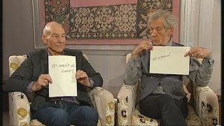 Patrick Stewart & Ian McKellen on their bromance | Channel 4 News