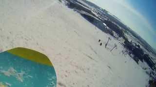 Хвалынск - Спуск на сноуборде в Хвалынске