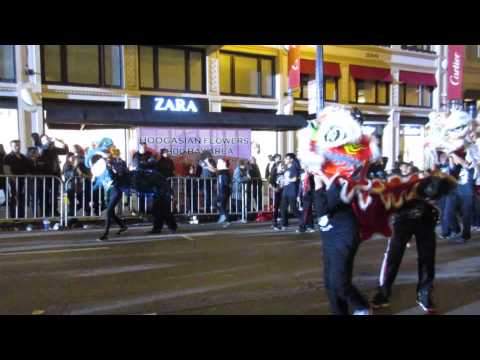 San Francisco Chinese New Year Parade 2016 Orchard School Asian Cultural Dance Troupe