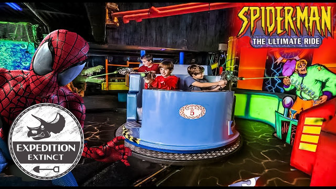 The Troubled History of Spider-Man: The Ultimate Ride - A Rip-Off Spider-Man Dark Ride?